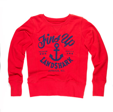 Ladies - Fins Up Anchor Sweatshirt