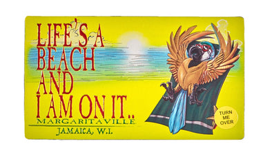 Life's a Beach and Sun/Sand Double Sided Magnet