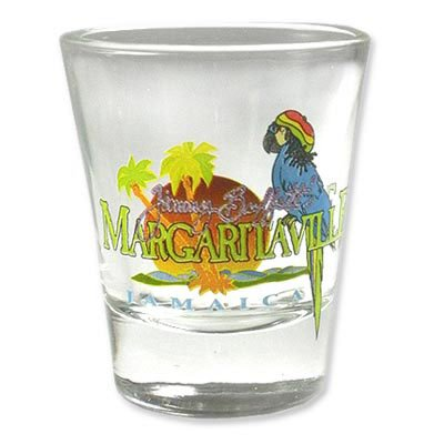 Margaritaville Logo Shot Glass