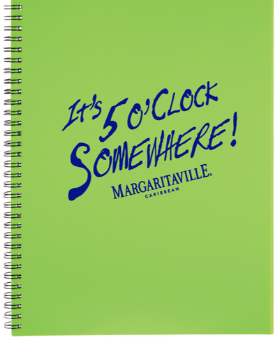 Five O'clock Somewhere Notebook