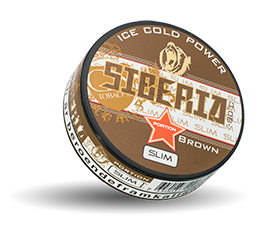SIBERIA Brown Slim -80 Ice Cold Power Portion