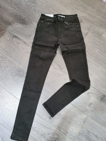 Black Denim Push Up Jeans