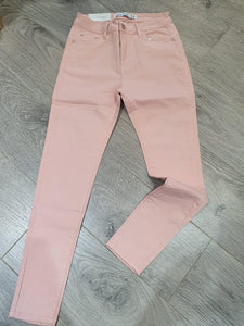Pink Denim Push Up Jeans