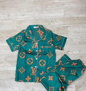 Short Sleeve Luna Pajamas