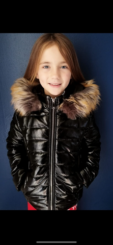 Kids Matte Parka Jacket