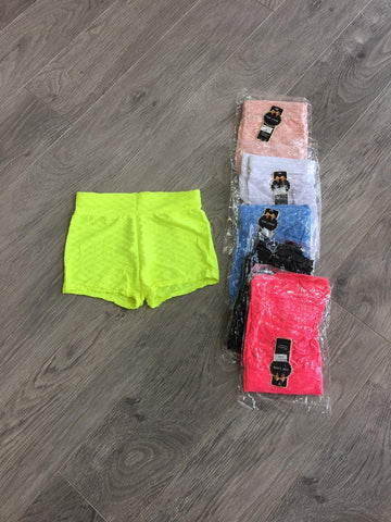 Honeycomb Hotpant Shorts