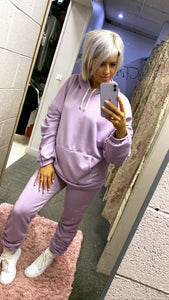 Rouche Sleeve Hoody&Jogger Set (5 Colours)