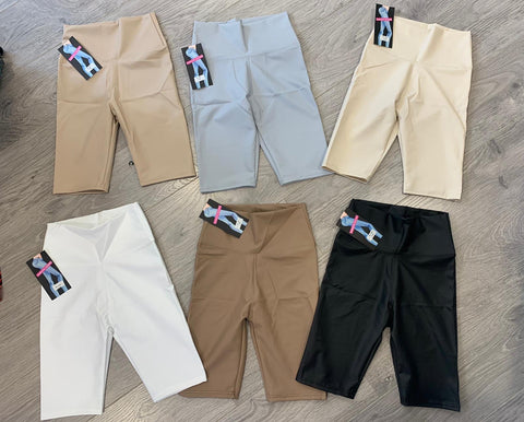 Pu Bicycle Shorts