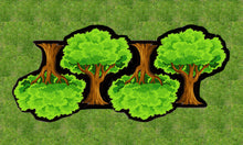 Load image into Gallery viewer, Four Deciduous Trees