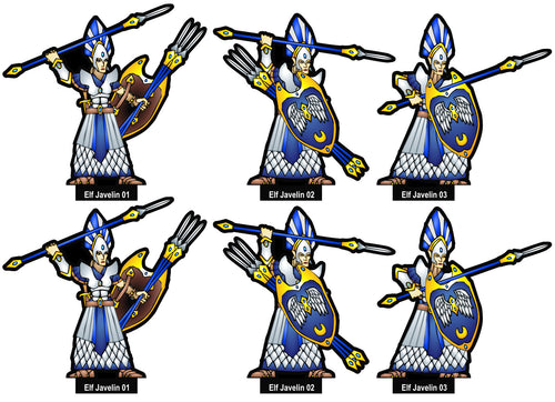 Elf Javelin Troops