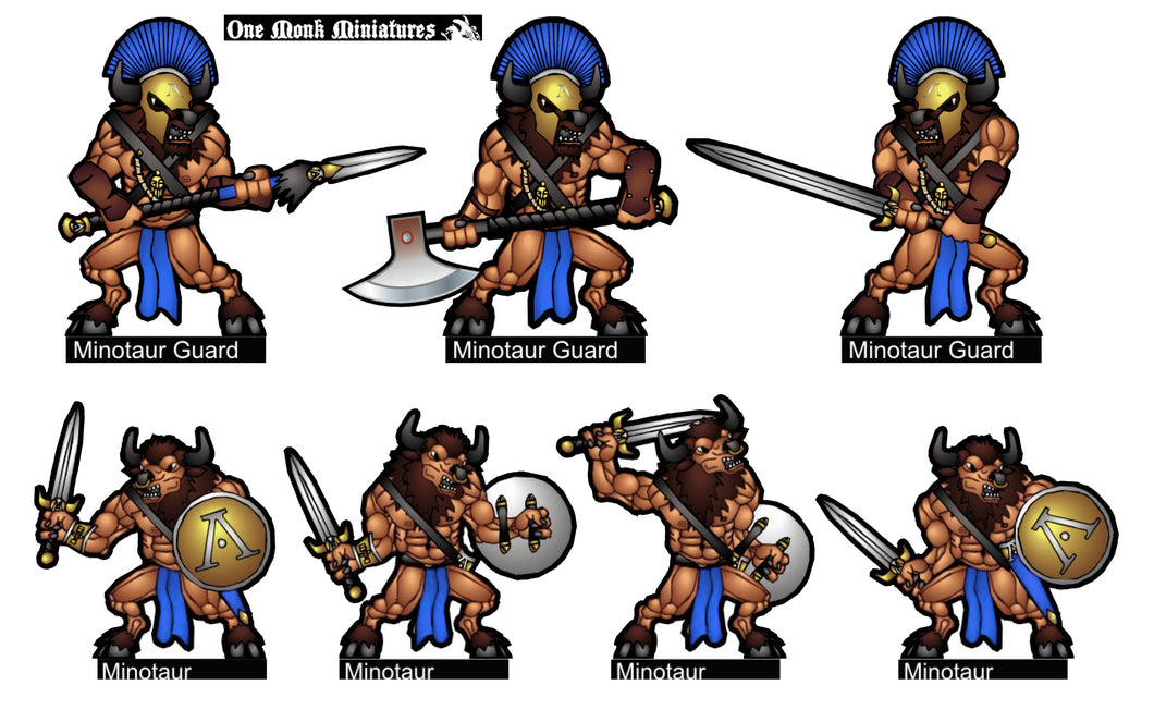 Spartan Minotaur Warriors
