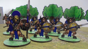 Spartan Minotaurs with Spear and Shield