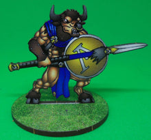 Load image into Gallery viewer, Spartan Minotaurs with Spear and Shield