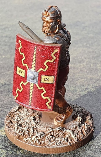 Roman Scutum Legion IX Red Shields