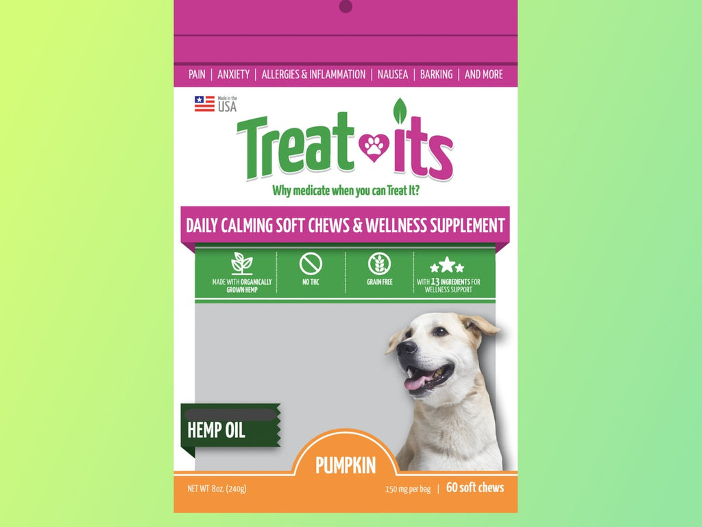 Treat-its Calming & Wellness Support Soft Chews, 60 count 150mg Full Spectrum Hemp $32.99