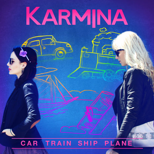Car Train Ship Plane (digital download)