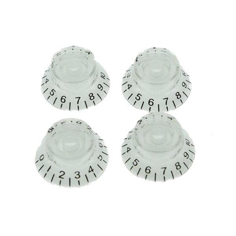 4 boutons Top Hat transparent