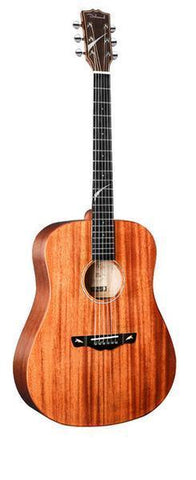 Guitare Dreadnought en Acajou