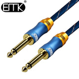 Câble audio Jack / jack 6.35 mm L : 1 m