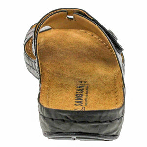 Irene Crinkle Leather - Comfort Plus