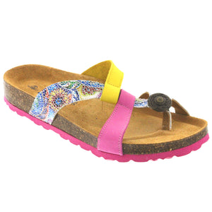 Meg Leather Strap adjustable sandal - Comfort Plus