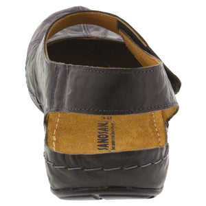 Sheryl Clog in Crinkled Leather - Comfort Plus