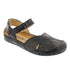 Sarah Clog in Crinkled Leather - Comfort Plus