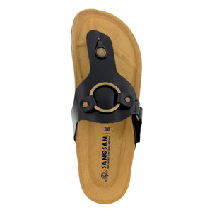 bcff0e45c1 Galena Leather adjustable Thong - Comfort Plus – Sanosan Footwear