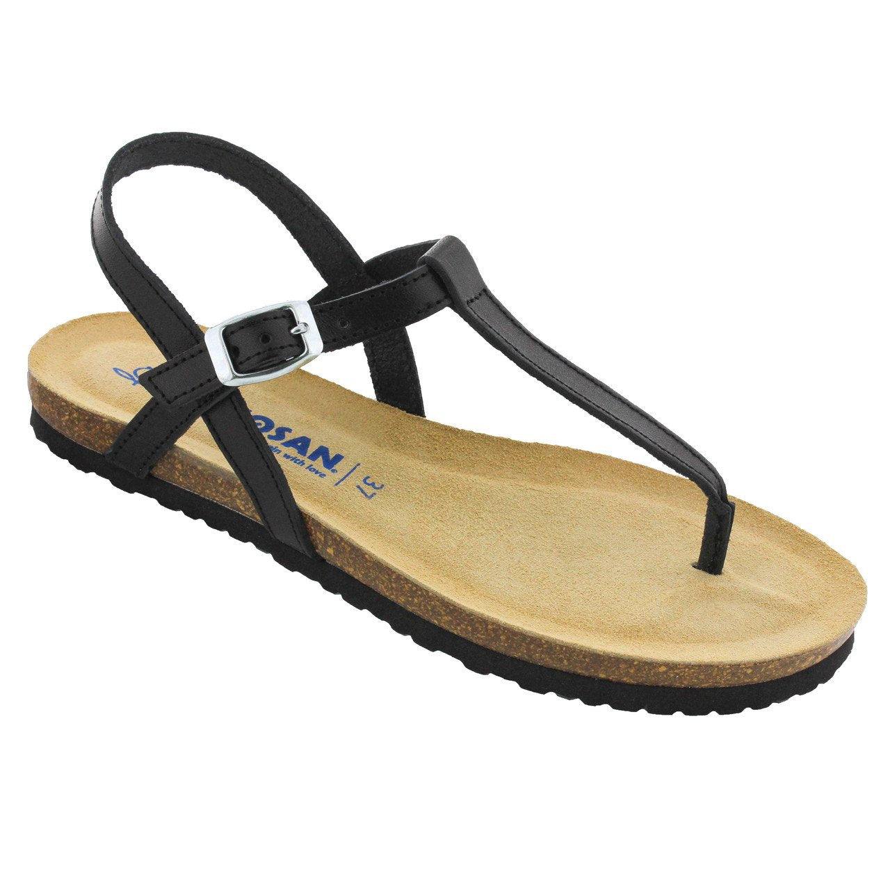 a02f30f6e4 Sandy Thong in Nappa Leather - Classic Comfort – Sanosan Footwear