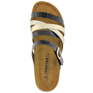 Luna Multi Strap Leather Sandal - Comfort Plus