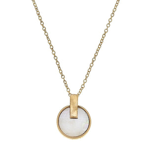 Siena Disc Necklace
