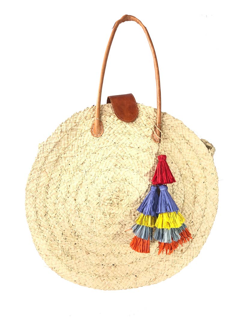 La Jolla Straw Bag