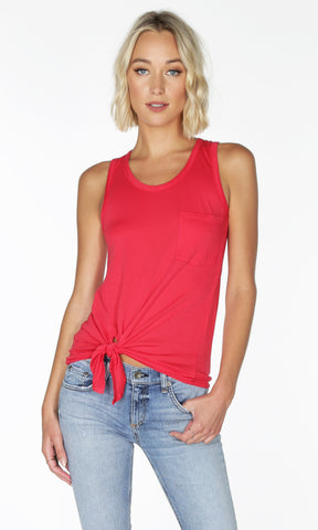 Side Tie Pocket Tank