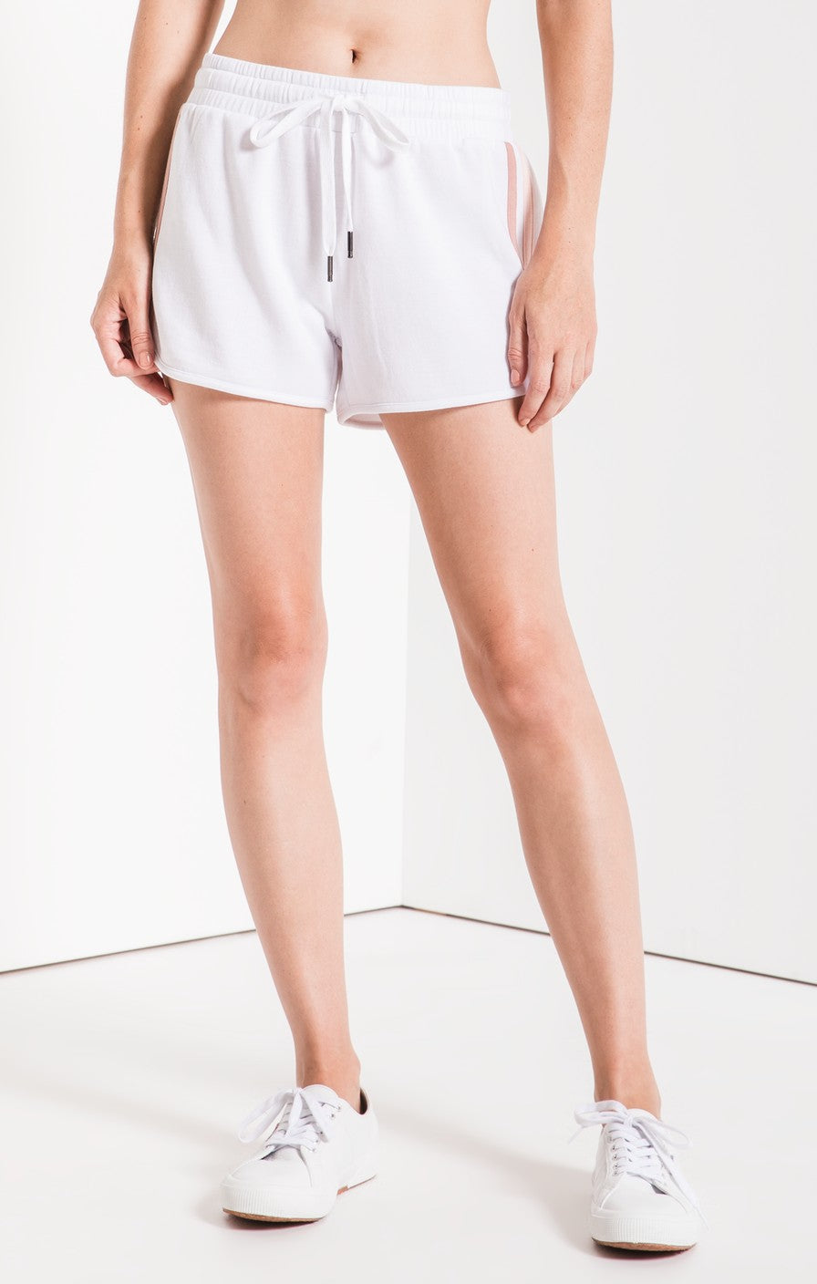 Feathered Fleece Short