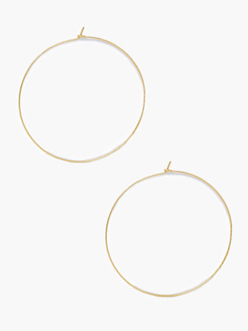 Gold Luxe Hoops