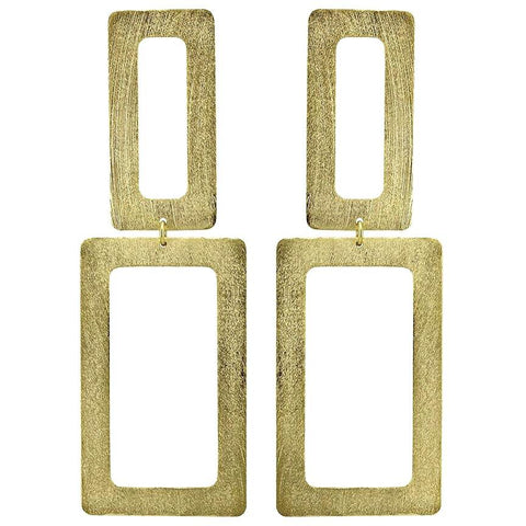 Rectangle Dangle Earring