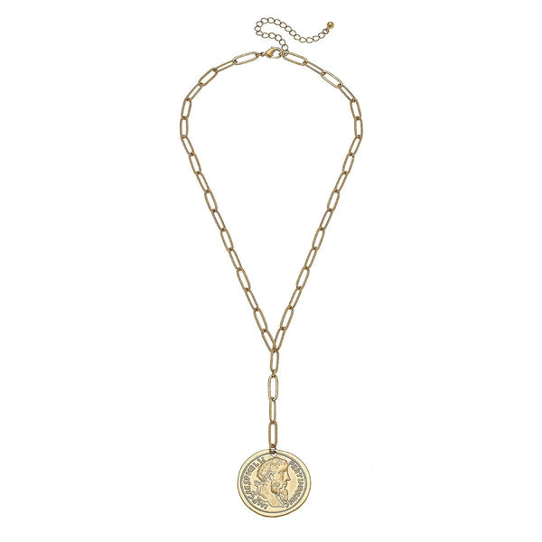 Avery Coin Necklace