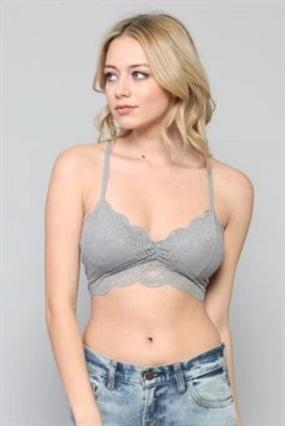 Cinched Front Padded Bralette