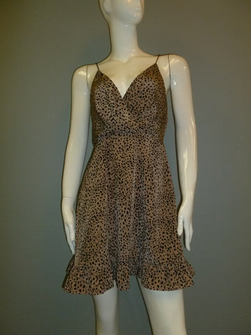 Flirty Leopard Dress