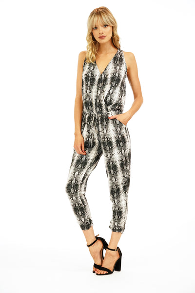 Sleeveless Jogger Jumpsuit