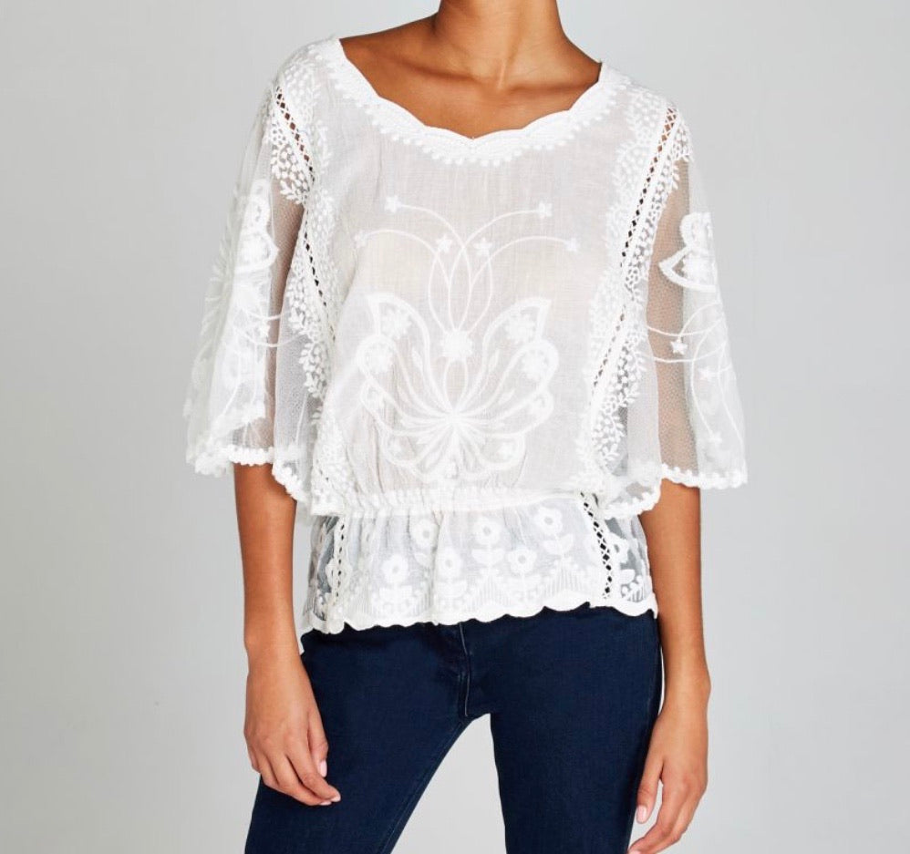 Lace Prairie Top