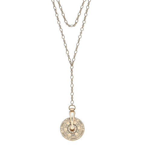 Celeste Layered Sundial Necklace