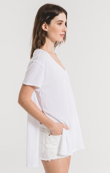 Organic Side Slit Tunic
