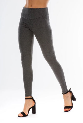 Legging de mujer: Gomphus Anthracite Grey Smooth