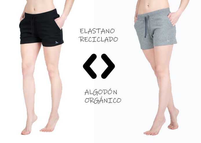 Shorts mujer Algodón orgánico | Lindissims