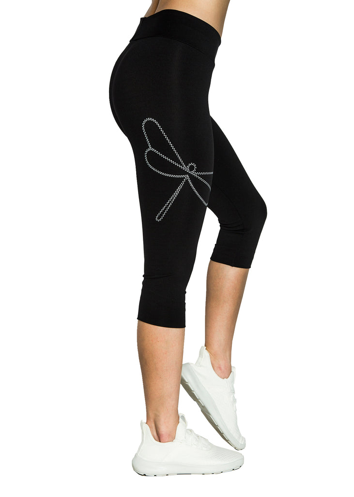 Leggings de Mujer Capri Dragon Fly