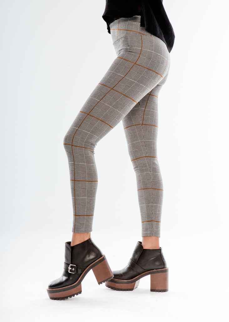 Leggings Escoceses Push Up · Moda Ecológica
