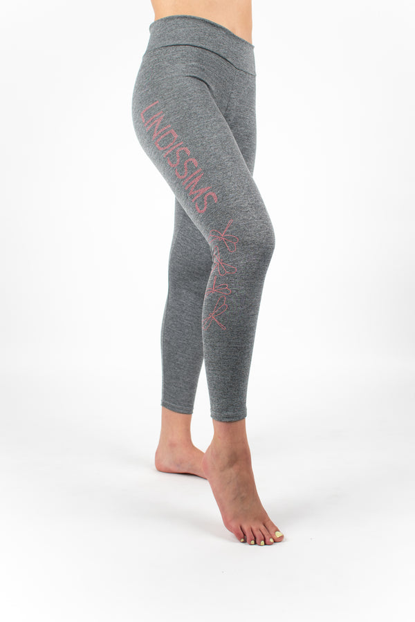 Leggings Mujer Gris Deporte Ecológicas Chic Grey