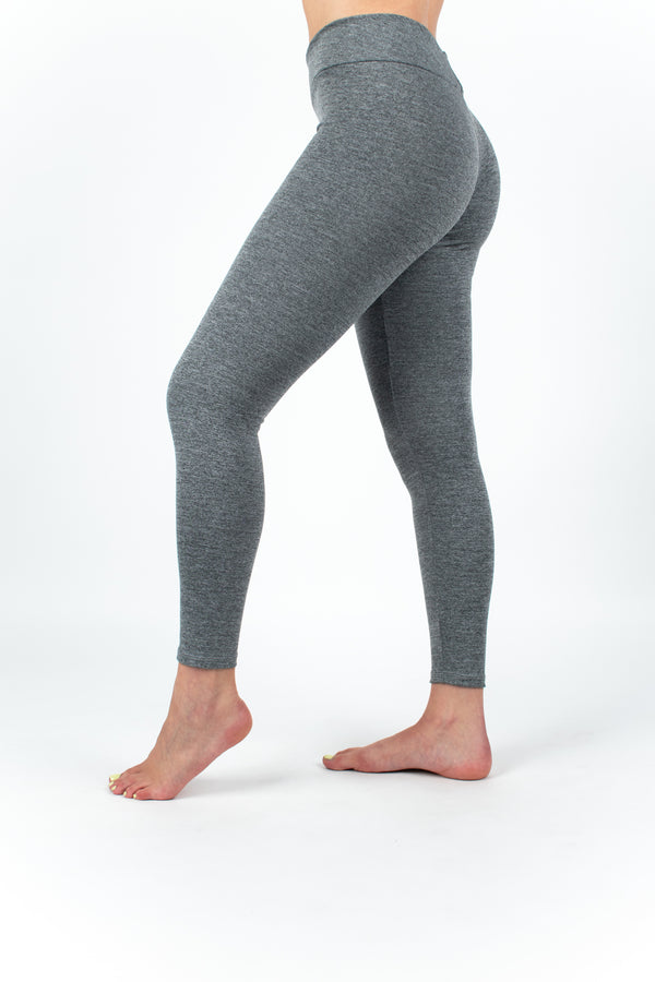 Leggings Deportivas Mujer Gris Ecológicas Smooth Grey
