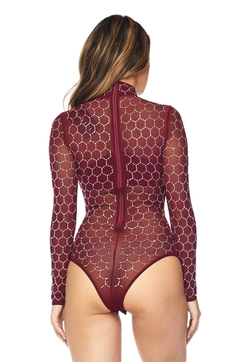 Cranberry Bodysuit